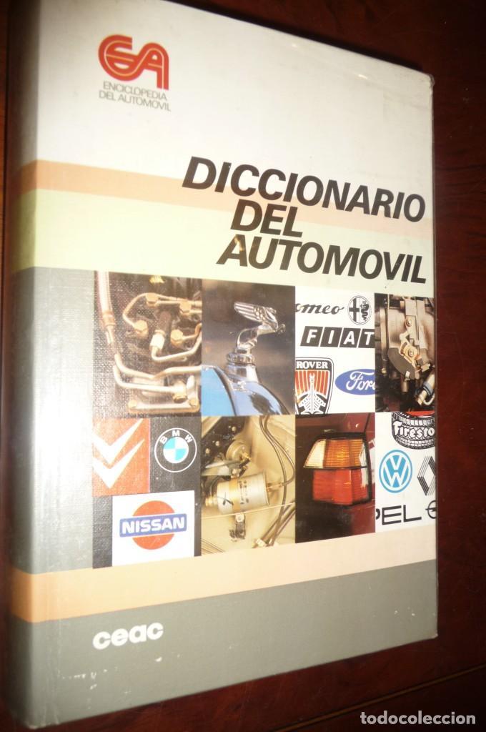 Coches y Motocicletas: ENCICLOPEDIA CEAC DEL AUTOMOVIL, COMPLETA 10 VOLUMENES, 1990, BUENA CONSERVACION - Foto 6 - 154349078