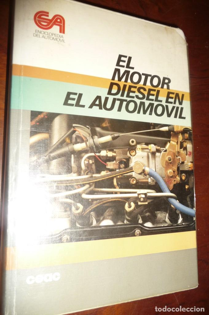 Coches y Motocicletas: ENCICLOPEDIA CEAC DEL AUTOMOVIL, COMPLETA 10 VOLUMENES, 1990, BUENA CONSERVACION - Foto 10 - 154349078