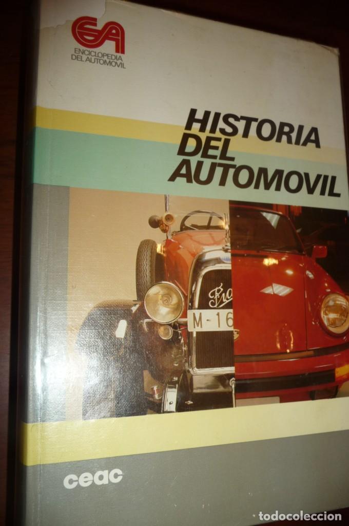 Coches y Motocicletas: ENCICLOPEDIA CEAC DEL AUTOMOVIL, COMPLETA 10 VOLUMENES, 1990, BUENA CONSERVACION - Foto 11 - 154349078
