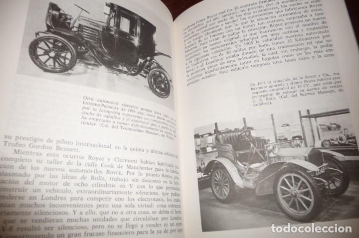 Coches y Motocicletas: ENCICLOPEDIA CEAC DEL AUTOMOVIL, COMPLETA 10 VOLUMENES, 1990, BUENA CONSERVACION - Foto 12 - 154349078