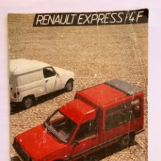 Coches y Motocicletas: FOLLETO PUBLICITARIO RENAULT EXPRESS/4F. Lote 154637906