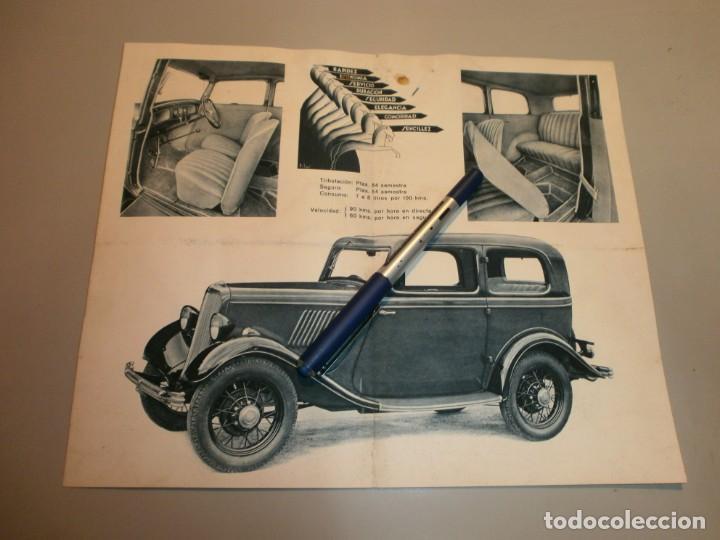 Coches y Motocicletas: catalogo de tienda ford 8 hp ford motor iberica barcelona original años 20 o 30 - Foto 2 - 154673518