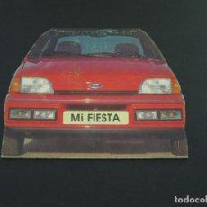 Coches y Motocicletas: LIBRETO DE PASATIEMPOS DE FORD FIESTA - 1990 - MI FIESTA. Lote 154799722