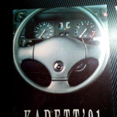 Coches y Motocicletas: -OPEL KADETT 91 CATALOGO PUBLICITARIO 14 PAG-. Lote 154827098