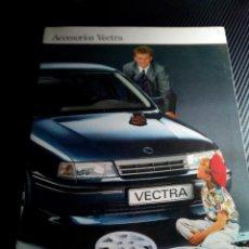 Coches y Motocicletas: -OPEL VECTRA CATALOGO PUBLICITARIO DE ACCESORIOS 12 PAG-1988. Lote 154828494