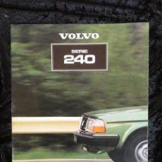 Coches y Motocicletas: CATALOGO VOLVO SERIE 240. Lote 154851598