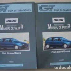 Coches y Motocicletas: MANUALES DE TALLER FIAT BRAVO/BRAVA . Lote 154920946