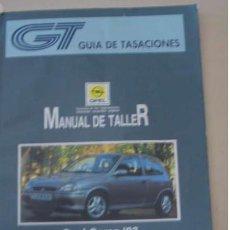 Coches y Motocicletas: MANUAL DE TALLER OPEL CORSA 1993 . Lote 154928462