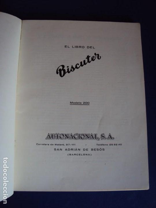 Cat-190356 Libro De Instrucciones Del Biscuter