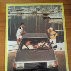Coches y Motocicletas: -TALBOT HORIZON CATALOGO PUBLICITARIO -20 PAG-ORIGINAL -CASTELLANO 1983. Lote 154970262