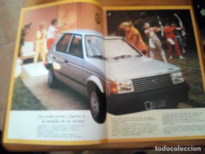 Coches y Motocicletas: -TALBOT HORIZON CATALOGO PUBLICITARIO -20 PAG-ORIGINAL -CASTELLANO 1983 - Foto 2 - 154970262