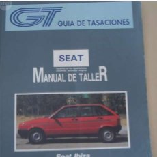 Coches y Motocicletas: MANUAL TALLER SEAT IBIZA - 1991 . Lote 155129322