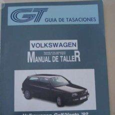 Coches y Motocicletas - MANUAL DE TALLER VOLKSWAGEN GOLF/VENTO - 155136102