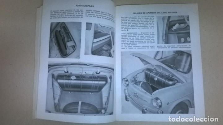 Coches y Motocicletas: Uso y entretenimiento.Seat 600.Libro.Manual - Foto 7 - 155310126
