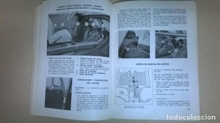 Coches y Motocicletas: Uso y entretenimiento.Seat 600.Libro.Manual - Foto 8 - 155310126