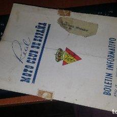 Coches y Motocicletas - Real moto club de españa, boletin informativo n° 102 de 1958 - 155559550