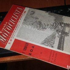 Coches y Motocicletas: ESPAÑA MOTOCICLISTA N° 56 DE 1956. Lote 155564974