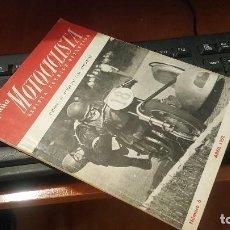 Coches y Motocicletas: ESPAÑA MOTOCICLISTA N° 6 DE 1952. Lote 155566422