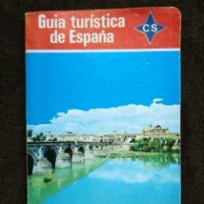 Coches y Motocicletas: GUÍA TURÍSTICA DE ESPAÑA. CS. RENAULT. GENTILEZA DE LA EMPRESA REGIONAL CALVO SOTELO 1970.. Lote 155666166
