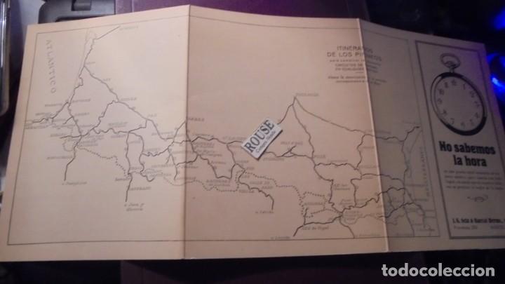 Coches y Motocicletas: FOLLETO OBSEQUIO DE LA GUIA DEL AUTOMOVILISTA A SUS LECTORES 1929 - TRIPTICO 6 PAG. 20,5X15 CM. - Foto 3 - 155841062