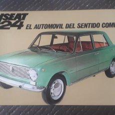 Coches y Motocicletas: CATALOGO ORIGINAL SEAT 124. Lote 155954453