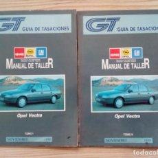 Coches y Motocicletas: GUIA DE TASACIONES - OPEL VECTRA - NOVIEMBRE 1990 - 2 TOMOS - LOTE 2. Lote 155954766