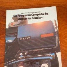 Coches y Motocicletas: MOTO BMW R45 CATALOGO PUBLICITARIO 1981. Lote 155988494