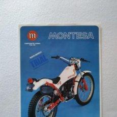 Coches y Motocicletas: LAMINA ORIGINAL MONTESA COTA 349. Lote 156436754