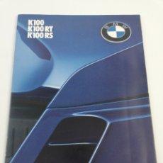 Coches y Motocicletas: CATALOGO BMW K100 K100 RT K100 RS MOTO MOTOCICLETA EN CASTELLANO AÑO 1983. Lote 156519478