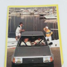 Coches y Motocicletas: CATALOGO PUBLICITARIO TALBOT HORIZON LS GL GLS GLD COCHE AUTOMOVIL EN CASTELLANO 1983.. Lote 156521906