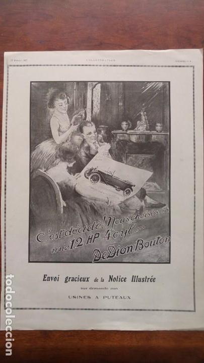 Coches y Motocicletas: DION BOUTON AUTOMOVILES ANTIGUOS VOITURE 7 HOJAS PUBLICIDAD AÑOS 1923-1924-1925-1926 BICYCLETTES - Foto 2 - 156525710