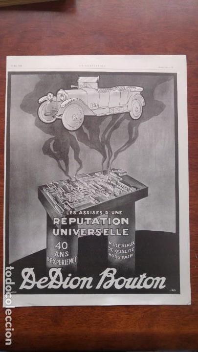 Coches y Motocicletas: DION BOUTON AUTOMOVILES ANTIGUOS VOITURE 7 HOJAS PUBLICIDAD AÑOS 1923-1924-1925-1926 BICYCLETTES - Foto 4 - 156525710