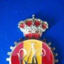 Coches y Motocicletas: MEDALLA INSIGNIA RAC REAL AUTOMÓVIL CLUB NUEVA . Lote 155772498