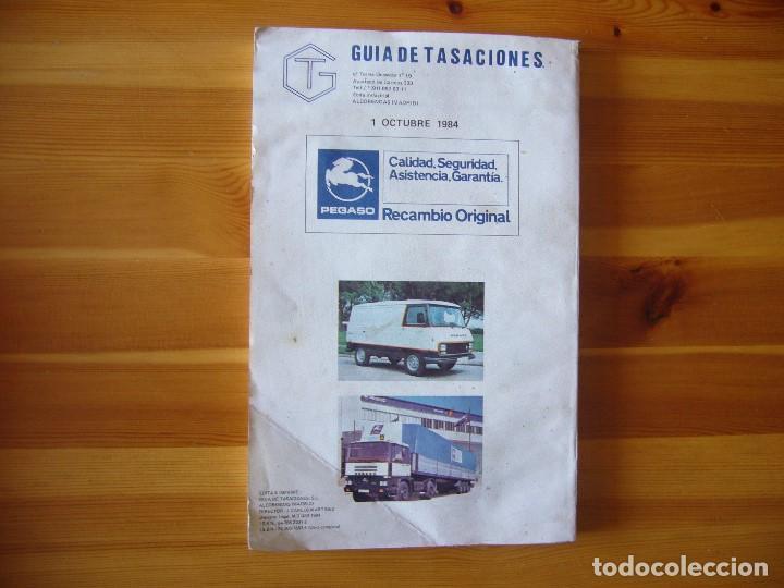 Coches y Motocicletas: GUIA de TASACIONES 1964 PEGASO SAVA J-4 1.100 Y PEGASO J-4 800 - 1.100 - Foto 2 - 156954802