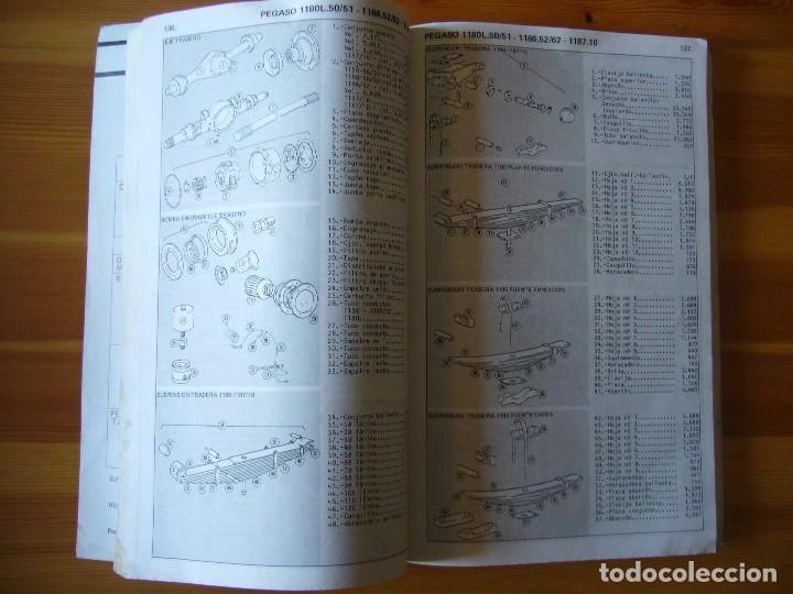 Coches y Motocicletas: GUIA de TASACIONES 1964 PEGASO SAVA J-4 1.100 Y PEGASO J-4 800 - 1.100 - Foto 6 - 156954802