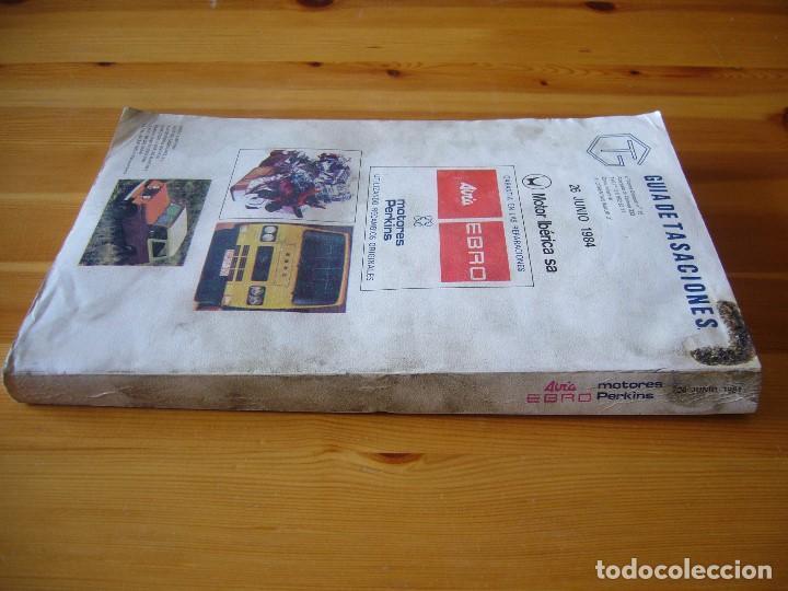 Autos und Motorräder: GUIA de TASACIONES 1984 MOTOR IBÉRICA S.A SIATA 50 S , AVIA 1000 , JEEP COMANDO - Foto 3 - 156955246