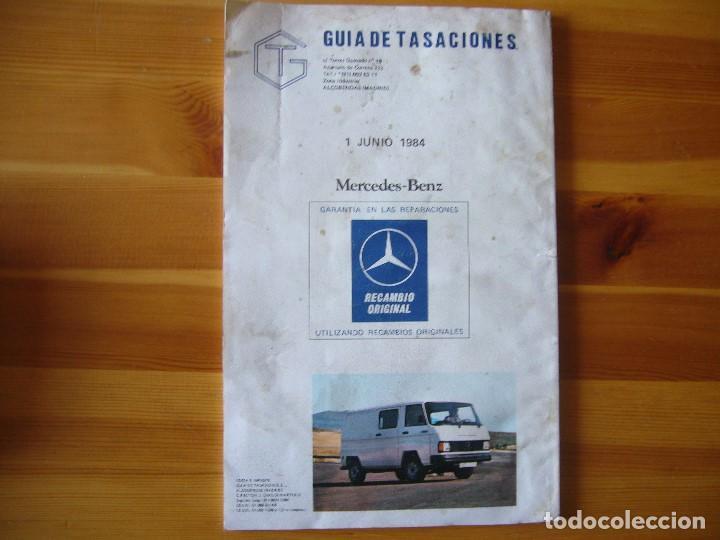 Coches y Motocicletas: GUIA de TASACIONES 1984 MERCEDES BENZ - Foto 2 - 156955510