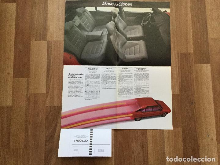 Coches y Motocicletas: CITROEN BX - CATALOGO PUBLICIDAD ORIGINAL - 1983 - ESPAÑOL - Foto 4 - 156969022