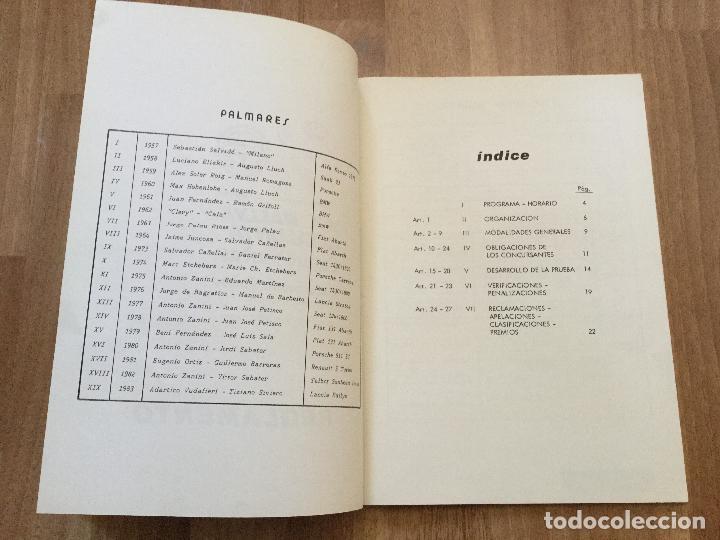 Coches y Motocicletas: REGLAMENTO XX RALLYE CATALUNYA 1984 CAMPIONAT D´EUROPA DE RALLYES TROFEU SEGURA VIUDAS - Foto 3 - 156970954
