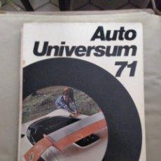 Coches y Motocicletas: AUTO UNIVERSUM 71. Lote 156972932