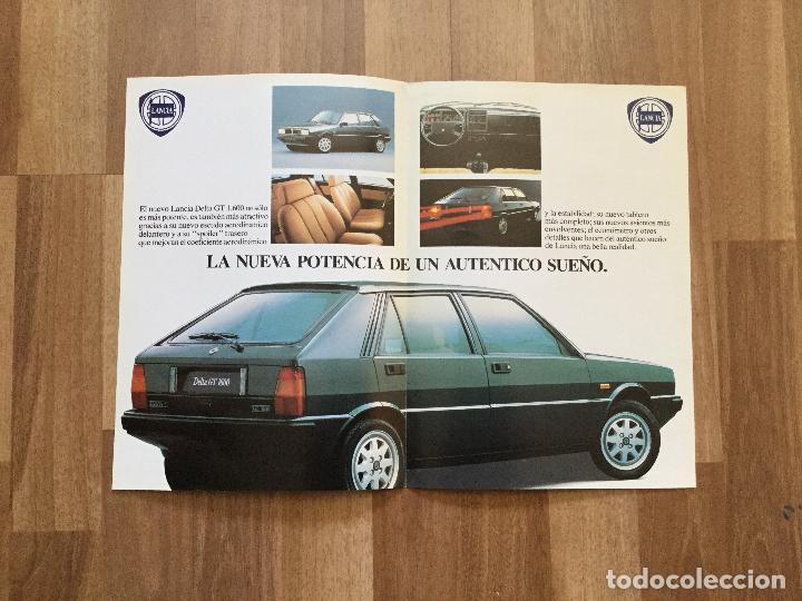 Coches y Motocicletas: CATALOGO COCHE LANCIA DELTA GT 1600 - Foto 2 - 156973062