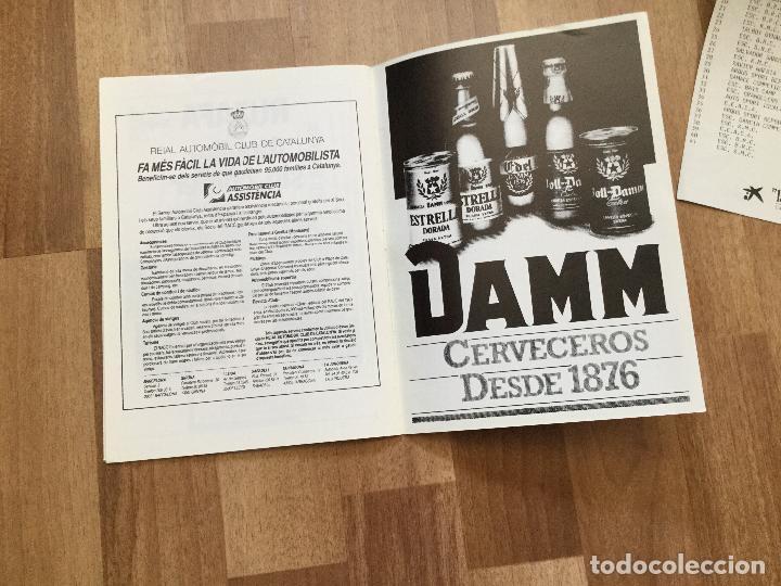 Coches y Motocicletas: PROGRAMA CARRERA RALLYE XV PUJADA A PRADES AÑO 1986 COCHE - Foto 5 - 156977622