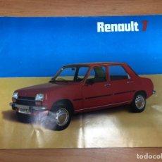 Coches y Motocicletas: CATALOGO RENAULT 7 CONTIENE 12 PAGINAS FASA RENAULT 1976. Lote 157381630