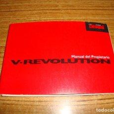 Carros e motociclos: (ALB-TC-6) DERBI MANUAL DEL PROPIETARIO V - REVOLUTION. Lote 198218162