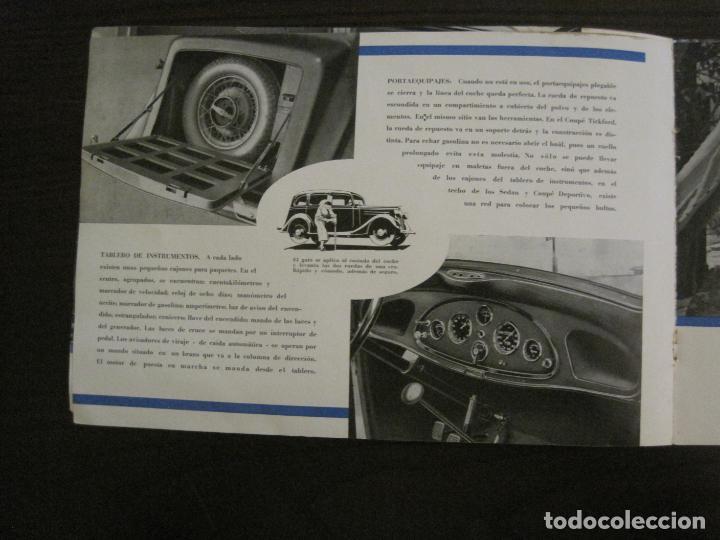 Coches y Motocicletas: VAUXHALL-EL GRAN PEQUEÑO COCHE INGLES-CATALOGO ANTIGUO DE COCHES-GENERAL MOTORS-VER FOTOS-(V-16.242) - Foto 7 - 158146974