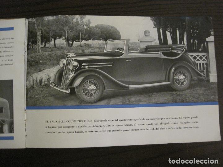 Coches y Motocicletas: VAUXHALL-EL GRAN PEQUEÑO COCHE INGLES-CATALOGO ANTIGUO DE COCHES-GENERAL MOTORS-VER FOTOS-(V-16.242) - Foto 10 - 158146974