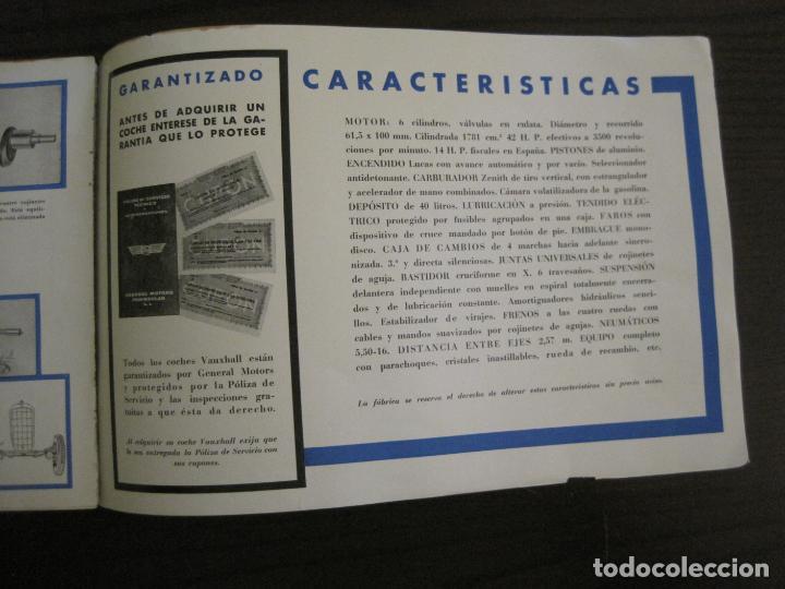Coches y Motocicletas: VAUXHALL-EL GRAN PEQUEÑO COCHE INGLES-CATALOGO ANTIGUO DE COCHES-GENERAL MOTORS-VER FOTOS-(V-16.242) - Foto 12 - 158146974