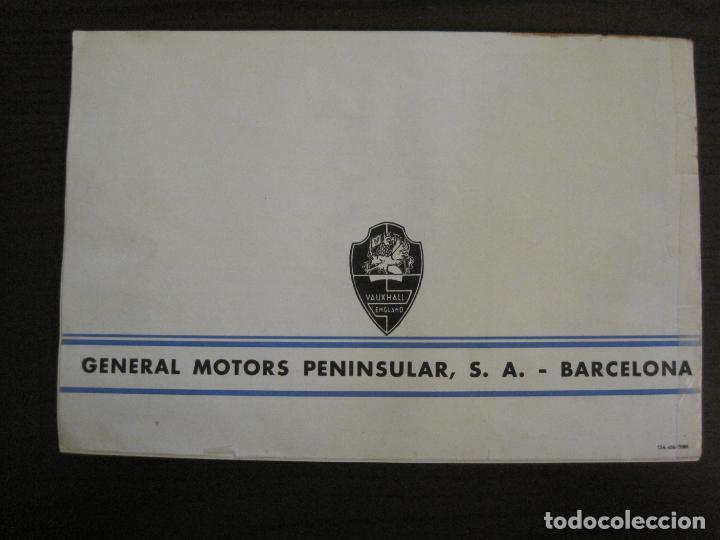 Coches y Motocicletas: VAUXHALL-EL GRAN PEQUEÑO COCHE INGLES-CATALOGO ANTIGUO DE COCHES-GENERAL MOTORS-VER FOTOS-(V-16.242) - Foto 13 - 158146974