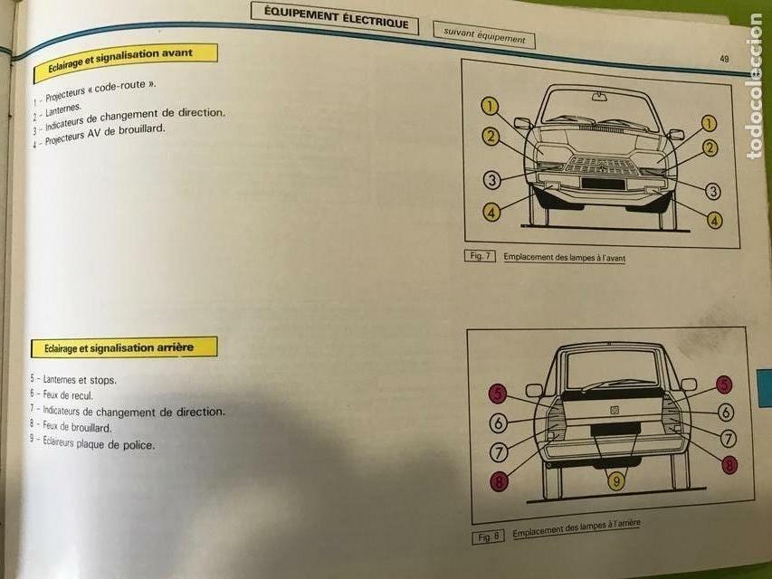 Coches y Motocicletas: Manual de empleo Citroen Gsa 1984 - Foto 3 - 158448306
