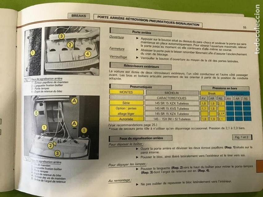Coches y Motocicletas: Manual de empleo Citroen Gsa 1984 - Foto 4 - 158448306